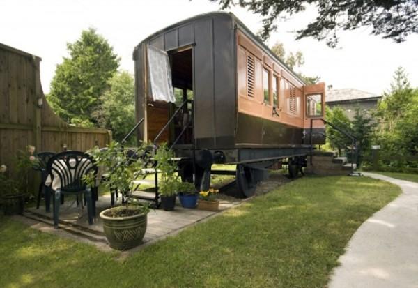 โบกี้รถไฟ นำมาทำเป็น บ้านรถไฟ ได้จริงหรือ