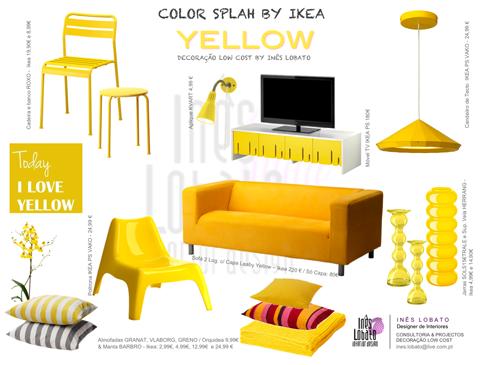 ไอเดีย แต่งบ้านสวยด้วย เฟอร์นิเจอร์สีเหลือง