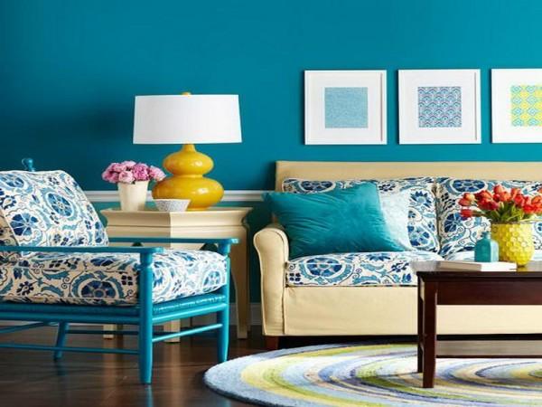 ไอเดียแต่งห้องนั่งเล่นสีฟ้า ช่วยเพิ่มชีวิต ชีวาให้บ้านสดใส