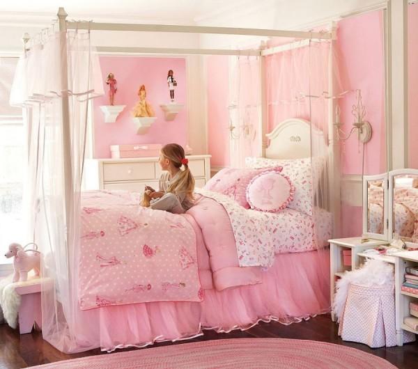 14 แบบ ห้องนอน สีชมพู สวย น่ารัก